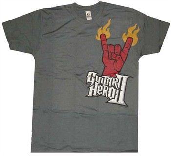 Guitar Hero II T-Shirt Sheer