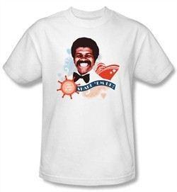 Love Boat Kids Shirt Issac Shake Em Up Youth White T-Shirt
