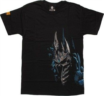 World of Warcraft Lich Head by Blizzard T-Shirt