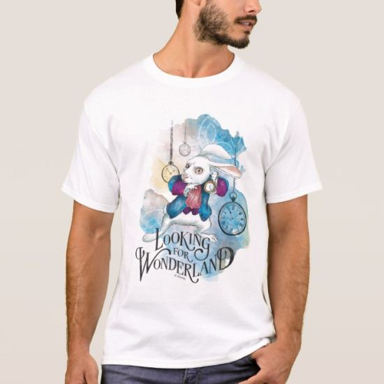 The White Rabbit | Looking for Wonderland T-Shirt