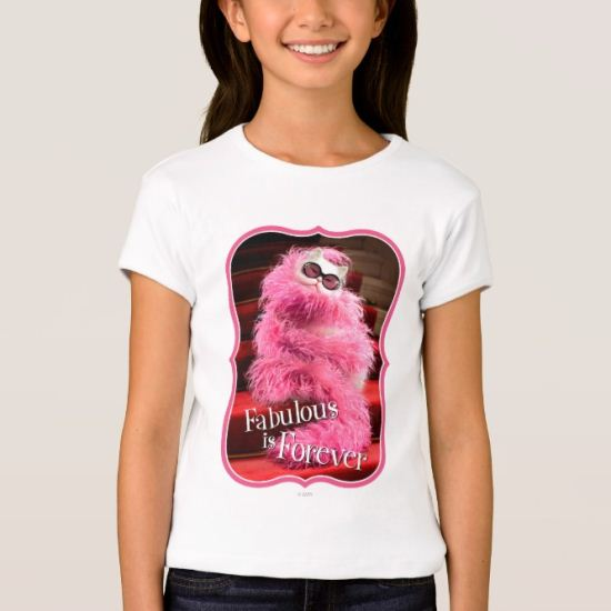 Diva White Cat Wrapped in Pink Boa on Red Carpet T-Shirt