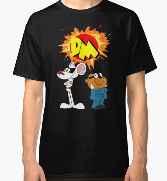 Danger Mouse Classic T-Shirt by UKDxGFX T-Shirt