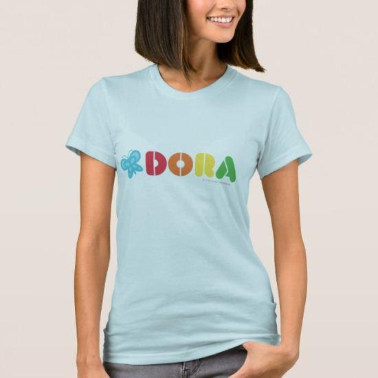 Dora The Explorer | DORA letters T-Shirt