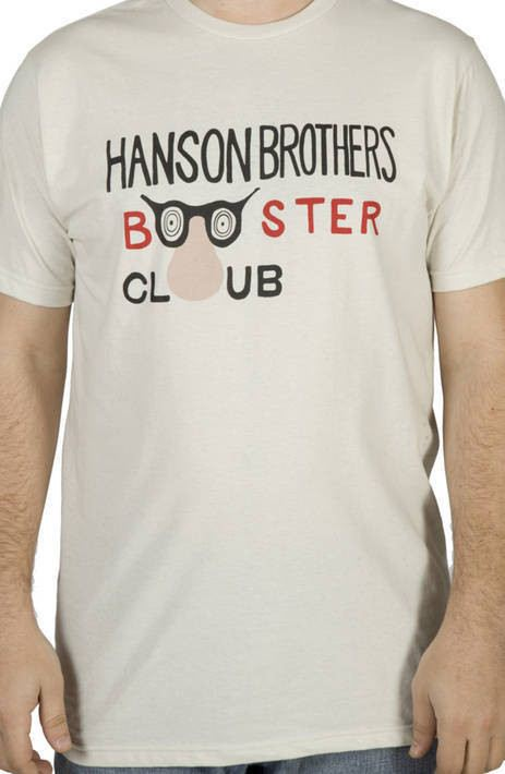 Hanson Brothers Booster Club Shirt