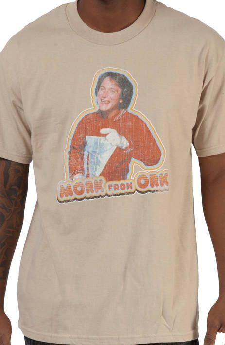 Mork From Ork Shirt