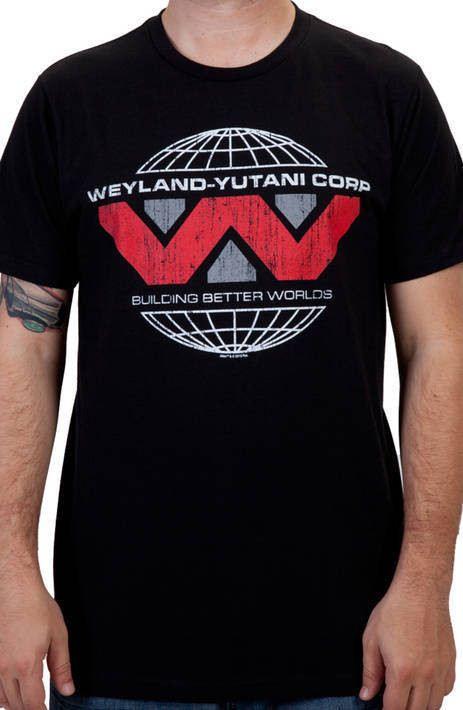 Weyland-Yutani Corp Alien Shirt