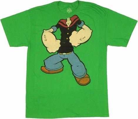 Popeye Costume T Shirt