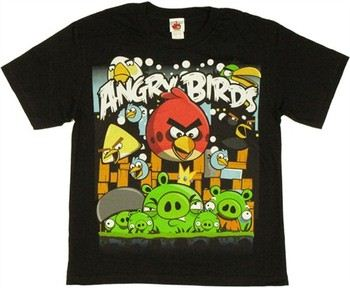 Angry Birds Attack Youth T-Shirt