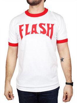 Flash Gordon Lightning Bolt Ringer T-Shirt
