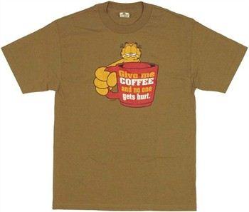 Garfield Give Me Coffee T-Shirt
