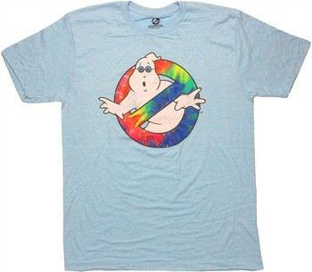 Ghostbusters Tie Dye Logo T-Shirt
