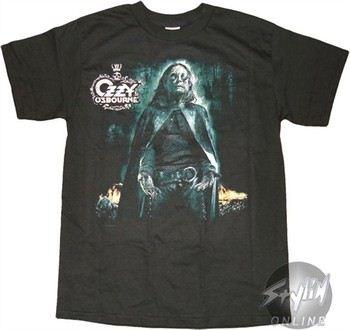Ozzy Osbourne Cape T-Shirt