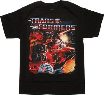 Transformers Space Battle T-Shirt