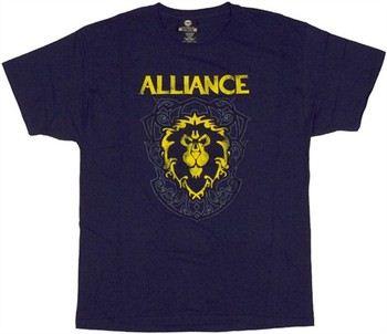 World of Warcraft Alliance Crest T-Shirt