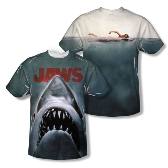 Jaws Shirt Poster Sublimation Youth Shirt