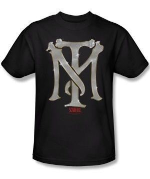 Scarface TM Bling Adult Black T-Shirt