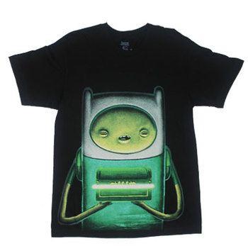 Creepy Finn - Adventure Time T-shirt