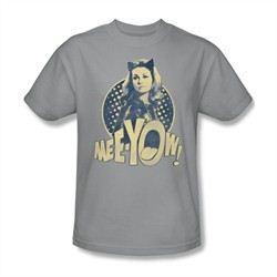 Classic Batman Shirt Meeyow Silver T-Shirt