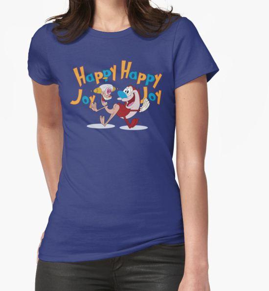 'Happy Happy Joy Joy' T-Shirt by Plan8 T-Shirt