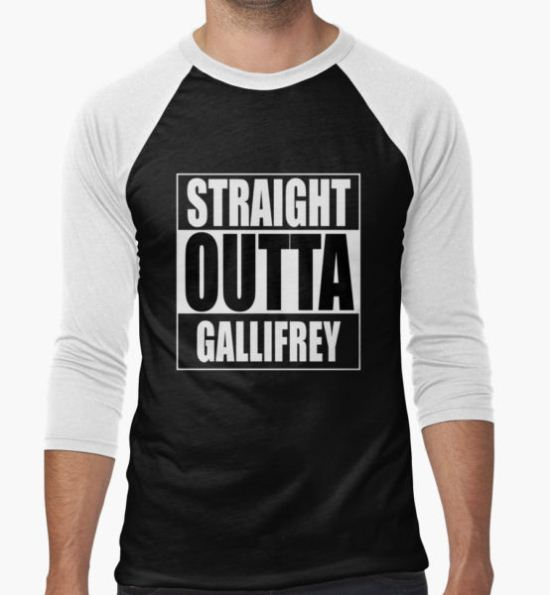 Straight OUTTA Gallifrey - Dr. Who T-Shirt by welikestuff T-Shirt