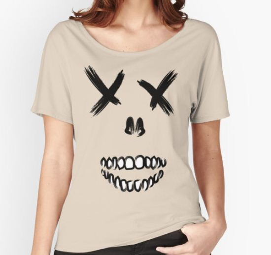 Suicide Skull Women's Relaxed Fit T-Shirt by crimzem T-Shirt