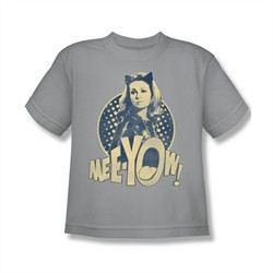 Classic Batman Shirt Kids Meeyow Silver T-Shirt