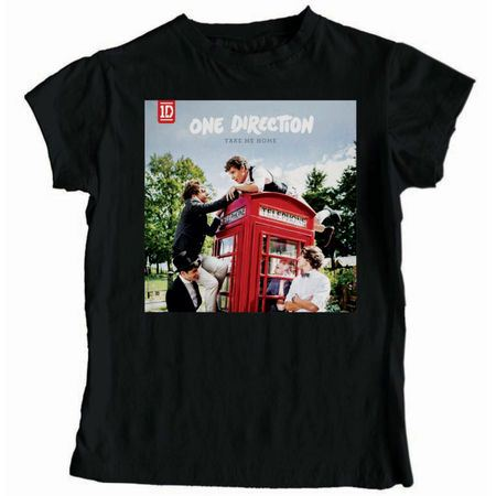 One Direction: One Direction Take Me Home Black T-Shirt
