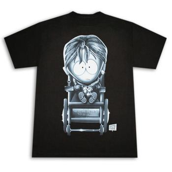 South Park Timmy Black Graphic Tee Shirt