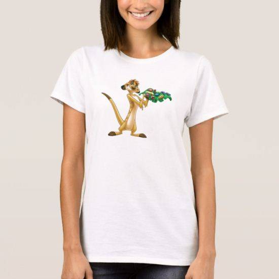 Timon Offering Bugs Disney T-Shirt