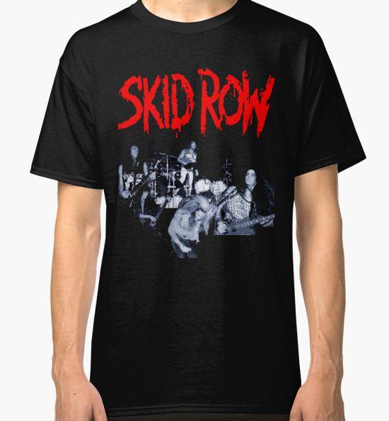 HALANGROY03 Skid Row Tour 2016 Classic T-Shirt by HALANGROY01 T-Shirt