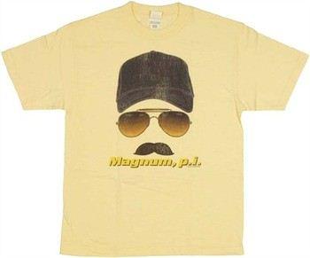 Magnum PI Face T-Shirt