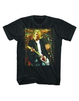 Nirvana Kurt Cobain Flim Strip Photo Men's T-Shirt