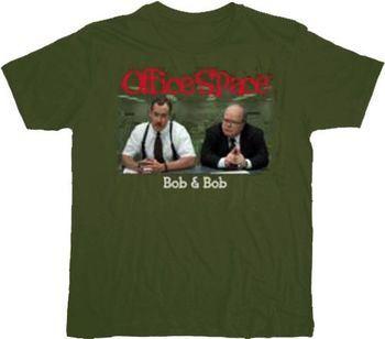 Office Space Bob and Bob T-shirt