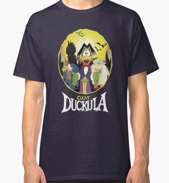 'Count Duckula - Darkwing Duck' Classic T-Shirt by ZananaBanana T-Shirt
