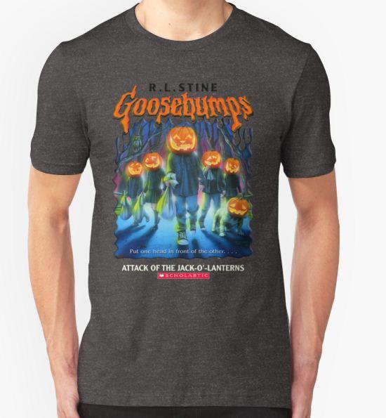 'Goosebumps Attack of the Jack O'Lanterns' T-Shirt by nicolascagedesu T-Shirt