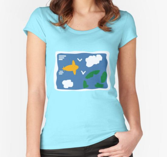 Rose's Sweater Women's Fitted Scoop T-Shirt by MsCristaMarie T-Shirt