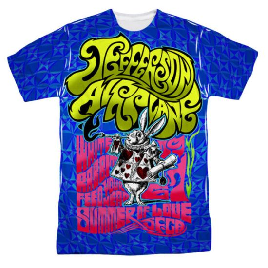 Jefferson Airplane White Rabbit Sublimation Shirt
