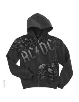 AC/DC Night Prowler Men's Zip Hoodie