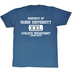 Animal House Shirt Athletic Department Adult Blue Tee T-Shirt