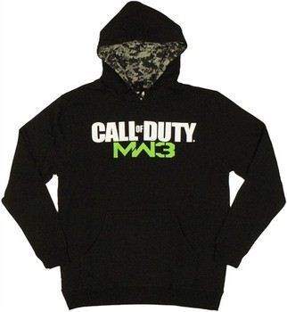 Activision Call of Duty Modern Warfare 3 Logo Pullover Hooded Sweatshirt