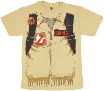 Ghostbusters Dr. Raymond Stantz Costume Double Sided T-Shirt
