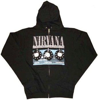Nirvana More Control Hooded Zipper Sweatshirt
