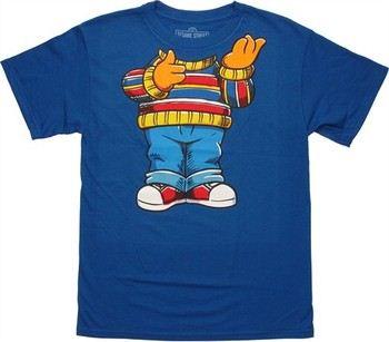 Sesame Street Ernie Body Costume T-Shirt