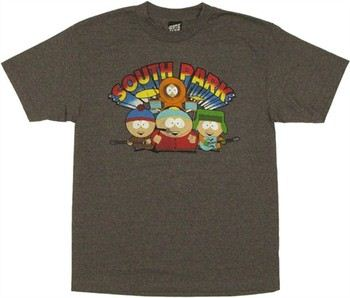 South Park Group Band T-Shirt