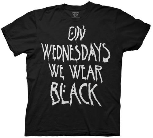 American Horror Story Coven On Wednesdays We Wear Black T-Shirt