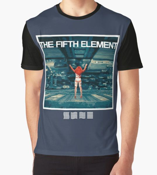 The Fifth Element Graphic T-Shirt by Whatsername16 T-Shirt