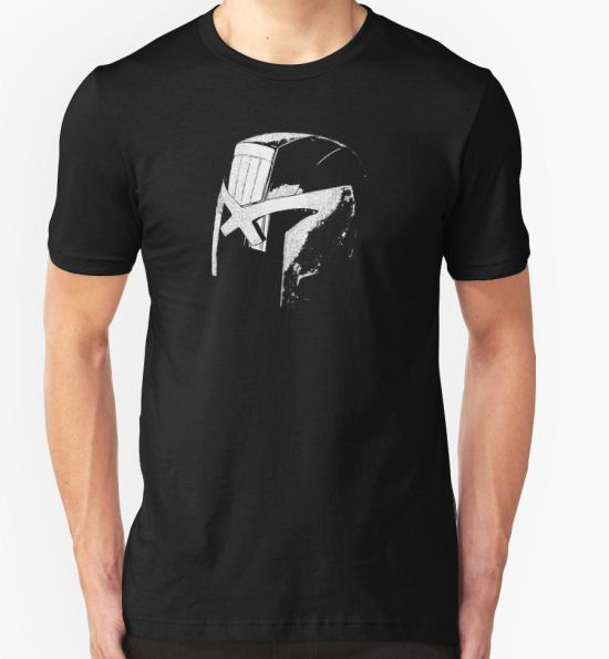 Judge Helmet T-Shirt by DBPhotoimaging T-Shirt
