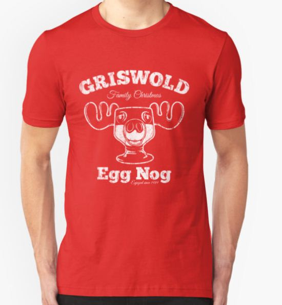 Griswold Christmas Egg Nog T-Shirt by stationjack T-Shirt
