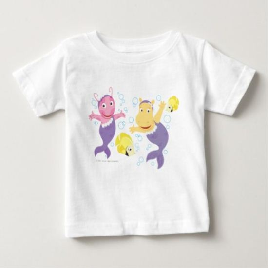 The Backyardigans | Mermaid Splash Baby T-Shirt