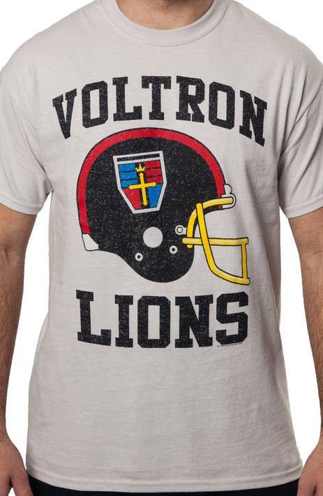 Voltron Symbol Helmet Shirt